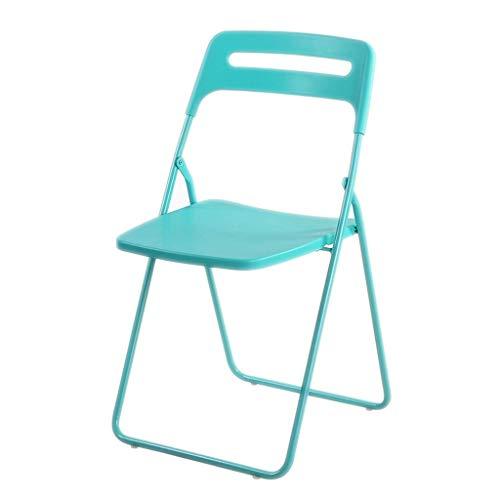 Zhaojyz Household Necessiten/klapstoel, voor thuis, dining, chair, keuken, tuin, draagbaar, Chair, kleine Conference Chair Lounge, Chair Cafe Stoel, 150 kg gewicht