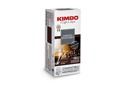 240 CAPSULE KIMBO COMPATIBILI NESPRESSO INTENSO