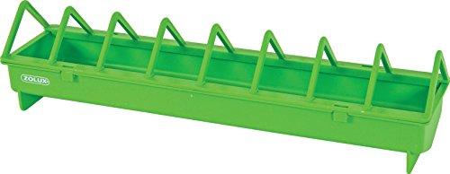 Zolux - niedriger Fresstrog aus Kunststoff, für Tierzucht, 100cm