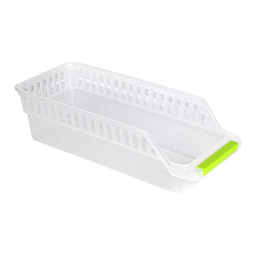XUJIE Refrigerator Manager, apilable Food Storage Container, for Vegetables, Fruit, Meat, Food Storage Box