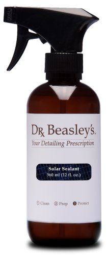 Dr. Beasley's Solar Sealant - 12 oz. Protects Solar Panels from Scratching and Etching, Makes Contaminants Easy to Remove, 1-Year Durability