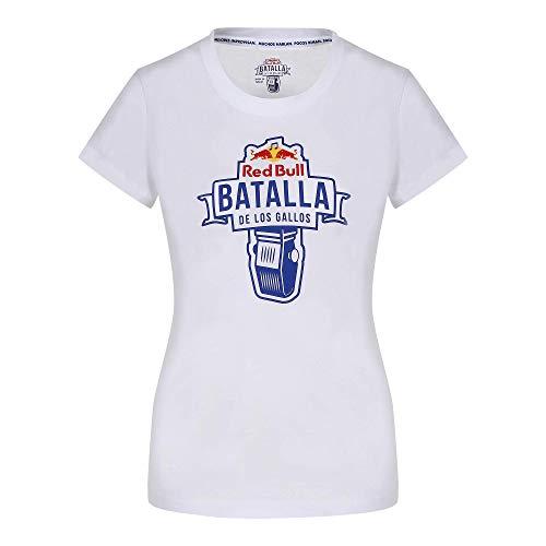 Red Bull Batalla de los Gallos Battle Camiseta, Mujeres X-Small - Original Merchandise