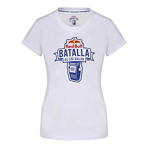 Red Bull Batalla de los Gallos Battle Camiseta, Mujeres Large - Original Merchandise