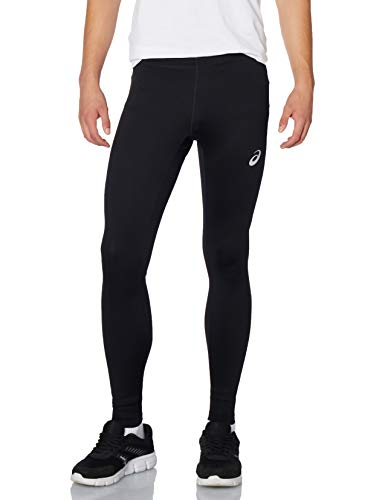 ASICS Silver Tight Herren-Leggings, Performance Black, M