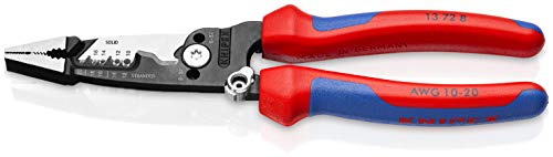 KNIPEX Tools 13 72 8 Forged Wire Stripper, 8-Inch