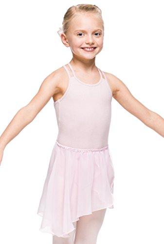 Arabesque Mädchen Ballett Wickelrock Ballettrock, 2006 (146/152, Rosa)