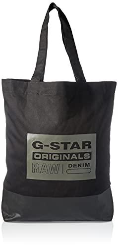 G-STAR RAW Mens 9921-990 - Bolso de lona para la compra, color negro