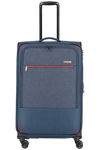 """Travelite Reisegepäck-Serie """"ARONA"""" attraktive Trolleys und Bordtaschen in 3 Farben Koffer, 77 cm, 84 L, Marine"""
