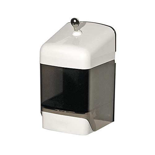 OPHARDT hygiene 1415284 ingo-top R 15 abschließbarer Seifenspender zur Dosierung von Flüssigseifen, 1500 ml