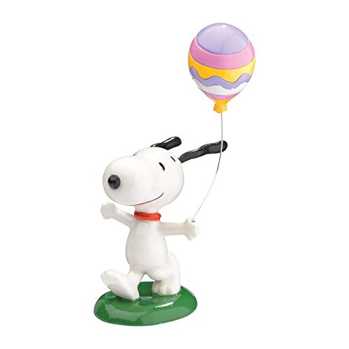 Department 56 Peanuts Snoopy with Balloon Figurine