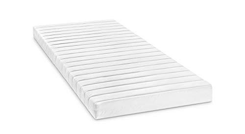 Bodyprotect Rollmatratze Komfortschaummatratze Micha in 90 x 200 x 13 cm, Härtegrad 3, weiß