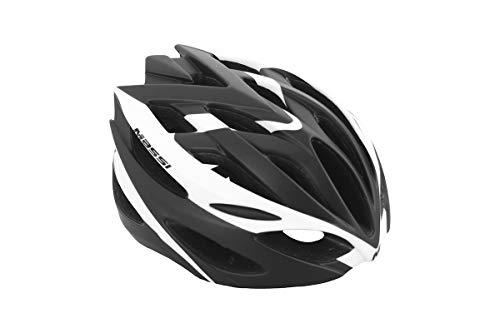 Massi Comp BlK Casco de Ciclismo, Deportes y Aire Libre, Black/White, U