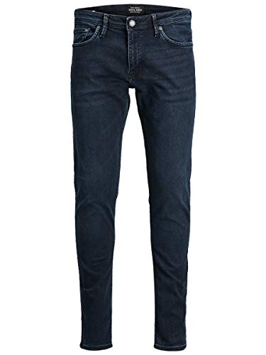 JACK & JONES Herren Slim Fit Jeans Glenn Felix AM 458 PCW SPS 3234Black Denim