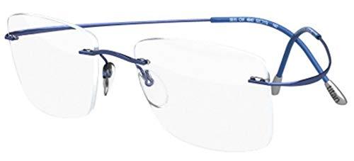 Silhouette Occhiali da vista TMA MUST COLLECTION 5515/CQ Light Blue 54/19/0 unisex
