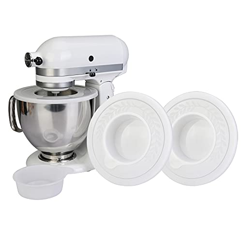 2 Pack Mixers Bowl Covers for KitchenAid 4.5-5 Quart Tilt-Head Stand...
