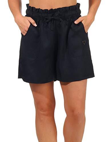 alife & kickin BeccaAK Pantalones Cortos, Marine, XS para Mujer
