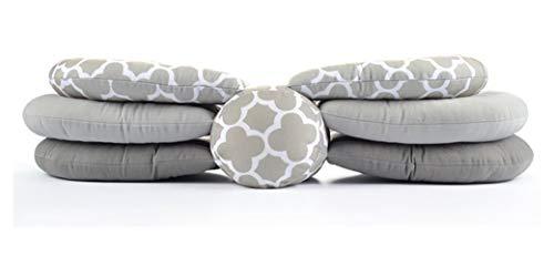 Coussin d'allaitement réglable en hauteur pour allaitement - Allaitement pour bébé nouveau-né, oreiller multifonction, oreiller d'allaitement, oreiller de maternité