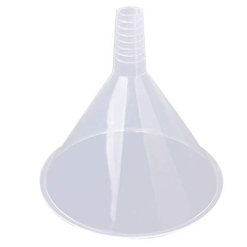Hieefi 150 Mm Embudos De Plástico, Embudos, con Tolva Grande Duradero Triángulo Colador Reutilizable para La Cocina/Laboratorio/Garaje/Líquidos De Coches