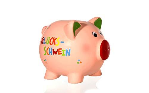 Preis am Stiel Spardose ''Glücksschwein'' | Verpackung | Geldgeschenke | Geldbüchse | Moneten | Knete | Groschen | Kies | Knasterkasse | Sparschwein | Notgroschen | Glücksbringer | Glückskasse