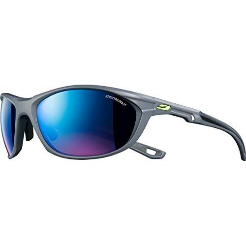 Julbo Race 2.0 Sonnenbrille Herren, grau (Gris/Gris/Logo Jaune Fluo), Einheitsgröße