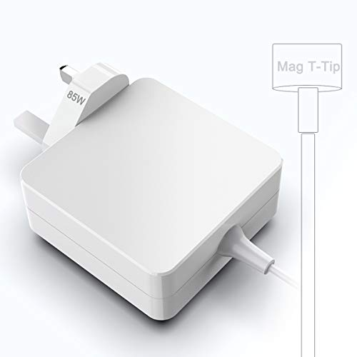 Opluz Mac Book Pro Charger 85W for MacBook Pro 17/15/13 Inch (Made After Mid 2012), Mac Book Pro Power Adapter Replacement