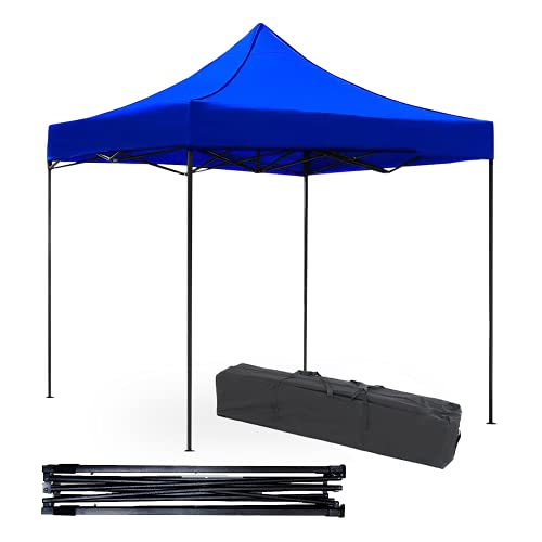 Easy-Shop Stay Elit Toldo Tipo Carpa Impermeable para Campismo 3x3metros Reforzado con Bolsa (Funda) Transportadora