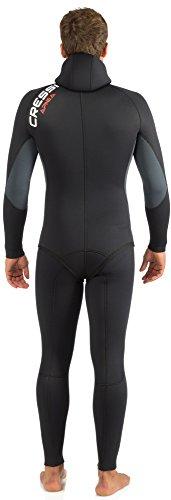 Hombre Cressi Apnea Men Complete Wetsuit 5mm Traje Profesional de Apnea y Pesca