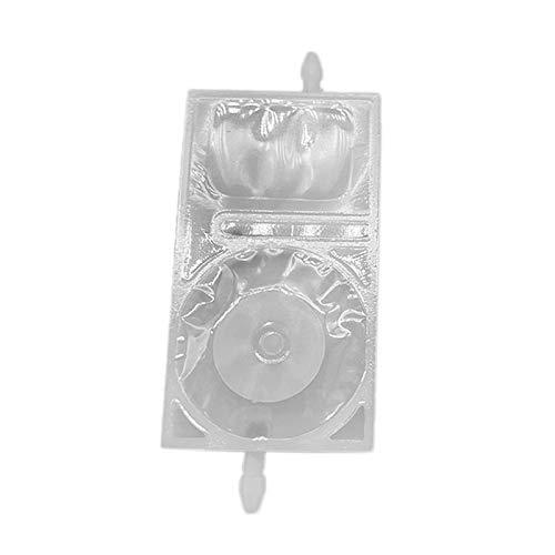 Nrpfell Inline-Tinten Beutel Drucker mit Zwei Enden Tinten Beutel Ist für Tx800 Xp600 DX5 Druck Kopf Wei? Geeignet