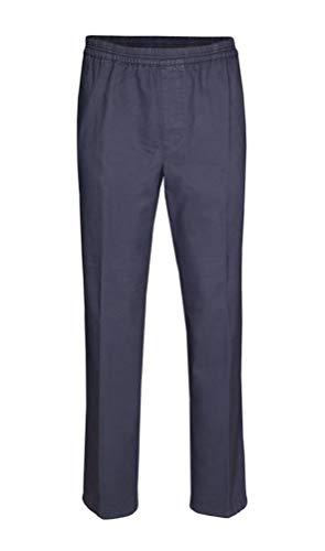 Brühl - Comfort Fit - Herren Schlupfhose mit bequemen Sitz durch elastischen Spezialbund in blau oder grau, Gustav (0124180000100), Größe:32, Farbe:Blau (650)