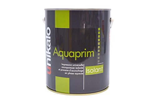 Pintura antihumedad, antimoho, aislante – 0,75 l – Aquaprim aislante – Int/Ext hormigón, cemento, yeso, vidrio, loza, aluminio, acero, zinc