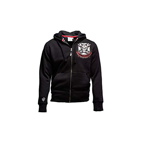 West Coast Choppers WCC Hoodie Mechanic Zip Black-M
