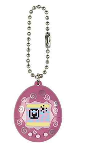 Tamagotchi mini,  Dark Pink and White