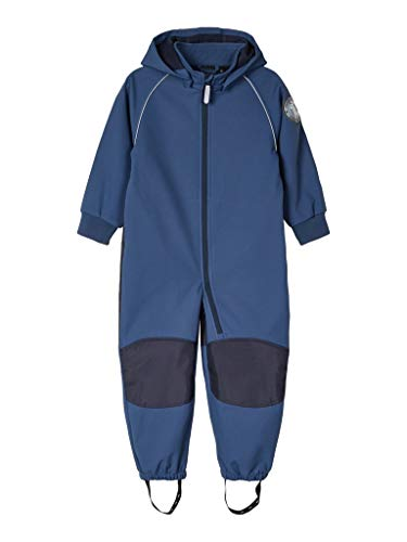 NAME IT Baby-Jungen NMMMALTA Suit 2FO Regenanzug, Dark Denim, 98