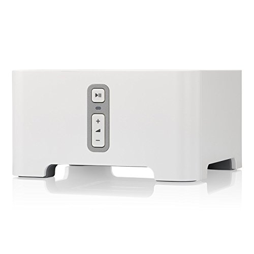 Sonos Connect - Wireless Home Audio Receiver Component for Streaming Music - White
