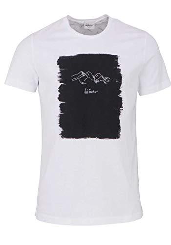 Luis Trenker M Ciril Weiß, Herren T-Shirt, Größe XXL - Farbe Weiß