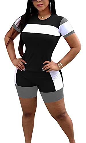 Ethika Shirt Top Biker 2 Piece Outfit Set Girl Two-piece Pants Women Black XL