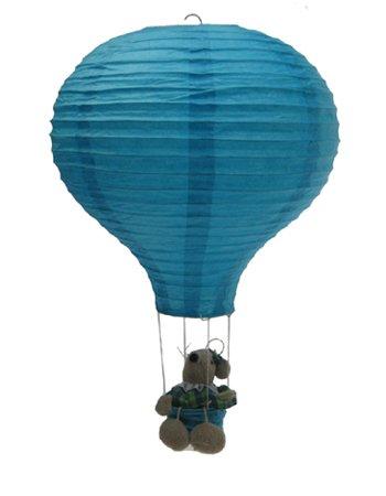 süß Heißluftballon Reispapier Lampion Lampenschirm (Modell 08)