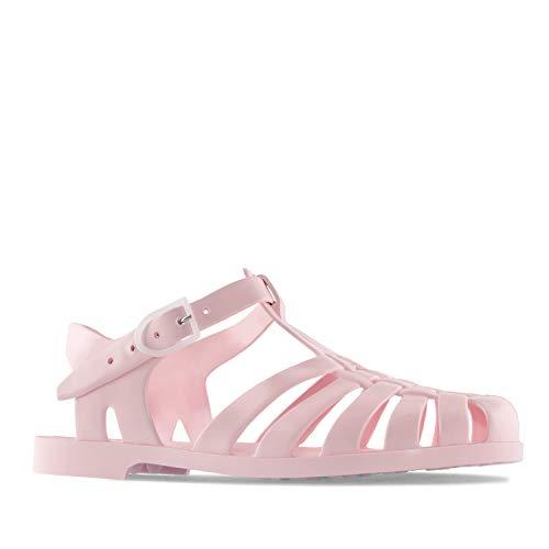 Andres Machado - Unisex Badeschuhe in rosa für Damen, Herren und Kinder – Kunststoff Sandalen - AM188 –der Klassiker aus unseren Kindertagen - Rosa, EU 40