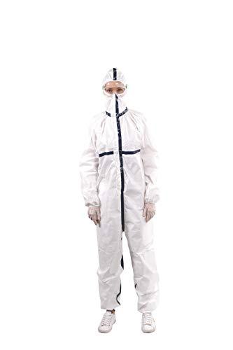 Tuta Monouso medica protettiva BodySafe 2045 EN14126 tipo 3/4 protezione contro agenti infettivi, chimici e particelle solide