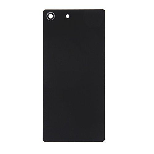 CellphoneParts BZN Tapa de batería Trasera for Sony Xperia M5 (Negro) (Dorado) (Blanco) (Color : Black)