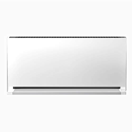Konvektor, mit einstellbarem Thermostat, Überhitzungsschutz, thermischer Abschaltung, kompaktem und freistehendem Design, 2500 W, weiß