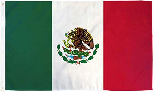 Best Flags Mexico Country Flag - New Ultrabreeze Series - 3x5ft Polyester - Banderas de Mexico