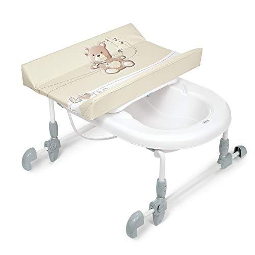 BREVI My Little Bear Bagnotime Table à Langer Réversible