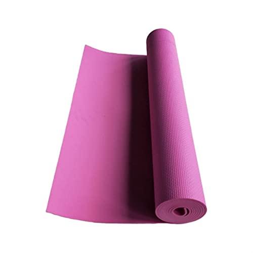 Esterilla de yoga fitness 4mm de grosor de espesor de yoga de yoga Ejercicio Cuerpo de ejercicios Manta Gimnasio Gimnasio Equipo de fitness Supply Supply Muy cómodo y duradero en cualquier superficie