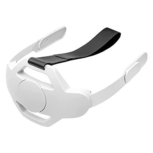 Ajustar la diadema del cojín del casco compatible con Oculus Quest 2 Mantener el equilibrio Reducir VR Headset Head Cushion Tiras
