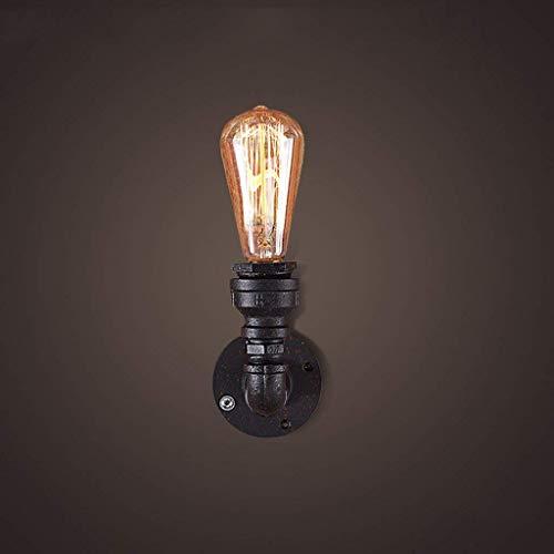 Mode Erstaunlich Retro Industrie 1-Licht Wasserpfeife Wandlampe Industrielle Steampunk Wandleuchten Vintage Wandlampe Maschine Alter Wasserpfeife Wandleuchte Loft Antike Beleuchtung Leuchte 110-240V