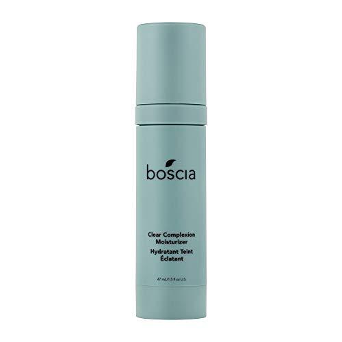 BOSCIA Clear Complexion Moisturizer Blemish-Prone Skin, Vegan/Cruelty-Free, 1.5 Fl Oz
