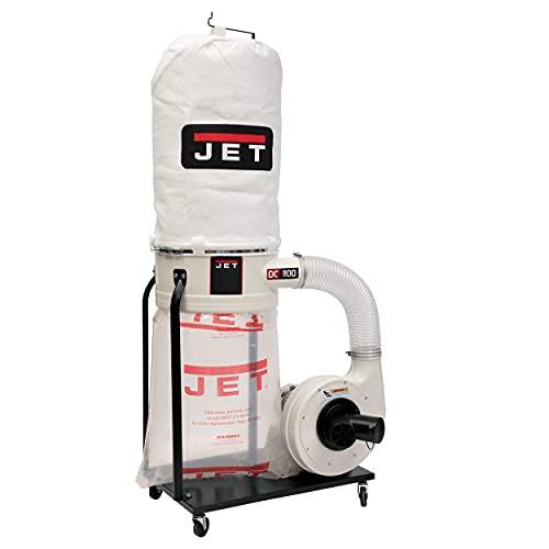 Jet DC-1100VX-5M Dust Collector, 1.5 HP, 1PH 115/230-Volt, 5-Micron Bag Filter Kit (708658K)