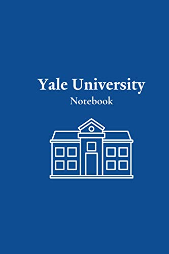 Yale University- Notebook: Blue colour Notebook,120 pages, size of 6 x 9
