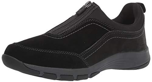 Easy Spirit womens Cave Sneaker, Black 001, 8.5 US